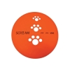 Scream SILICONE PET FLYER Small 18cmDia. Loud Orange - Click for more info