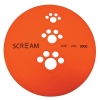 Scream SILICONE PET FLYER Large 23cmDia. Loud Orange - Click for more info