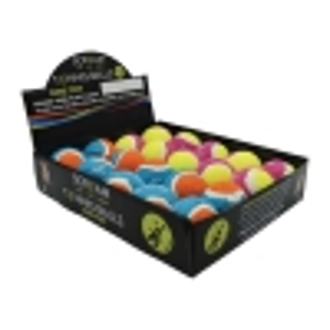 Scream TENNIS BALL COUNTER DISPLAY 20pk - Small 5cm - Click for more info