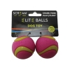 """Scream ELITE BALL SMALL 2"""" (5cm) Loud Green & Pink 2pk - Click for more info"""