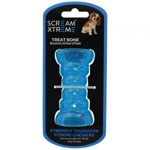 Scream Xtreme TREAT BONE Loud Blue - Small 9cm - Click for more info