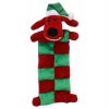 "Multipet CHRISTMAS LOOFA DOG SANTA MAT 13"" (33cm) - Click for more info"