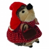HEGGIE LITTLE RED PLUSH DOG TOY - Click for more info