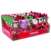 Charming Pets CHRISTMAS PDQ - FUZZ BUDS & FROSTY, WITH BONE - Click for more info
