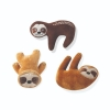 Prestige PLUSH HANGING WITH THE SLOTHS TOY SET 3pk - Click for more info