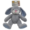 Prestige PLUSH SNUGGLE BUNNY Grey (24cm) - Click for more info