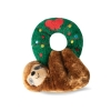 Prestige CHRISTMAS PLUSH - HOLLY WREATH SLOTH - Click for more info