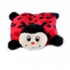ZippyPaws - SQUEAKIE PADS LADYBUG 16 x 12.5cm - Click for more info
