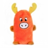 ZippyPaws - SQUEAKIE BUDDIES MOOSE 14 x 7.5cm - Click for more info