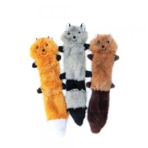 ZippyPaws - SKINNY PELTZ Small 3pk (Fox, Raccoon, Squirrel) 28 x 5 x 1cm - Click for more info