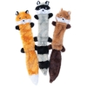 ZippyPaws - SKINNY PELTZ Large 3pk (Fox, Raccoon, Squirrel) 45.5 x 6 x 1.2cm - Click for more info