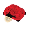 ZippyPaws - SQUEAKIE CRAWLERS - BETSEY THE LADYBUG 25 x 21.5 x 2.5cm - Click for more info