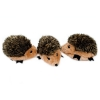 ZippyPaws - MINIZ HEDGEHOG 3 Pack 5 x 3.5cm each - Click for more info