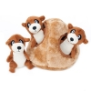 ZippyPaws - ZIPPY BURROW MEERKAT DEN 16.5 x 16.5cm - Click for more info