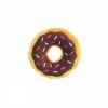 ZippyPaws - MINI DONUTZ  CHOCOLATE 12.5cm dia x 4Hcm - Click for more info