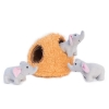 ZippyPaws - ZIPPY BURROW ELEPHANT CAVE 17.5 x 17.5cm - Click for more info