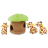 ZippyPaws - ZIPPY BURROW GIRAFFE LODGE 20 x 17 x 17cm - Click for more info