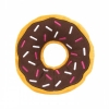 ZippyPaws - JUMBO DONUTZ  CHOCOLATE 26.5cm dia x 6.5Hcm - Click for more info