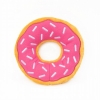 ZippyPaws - JUMBO DONUTZ  STRAWBERRY 26.5cm dia x 6.5Hcm - Click for more info