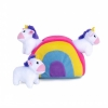 ZippyPaws - UNICORN RAINBOW BURROW 19x13cm - Click for more info