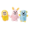 ZippyPaws - SQUEAKIE BUDDIES - BEAR, BUNNY & MONKEY 3pk - Click for more info