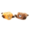 ZippyPaws - SQUEAKIE PADS - BEAR & MOOSE 2pk - Click for more info
