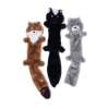 ZippyPaws - SKINNY PELTZ Large 3pk (Weasel, Skunk, Wolf) 45.5 x 6cm - Click for more info