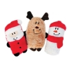 ZippyPaws - HOLIDAY SQUEAKIE BUDDIES 3pk 14x7.6cm - Click for more info