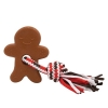 ZippyPaws - HOLIDAY TEETHERZ GINGERBREAD MAN 17.5 x 12.5cm - Click for more info
