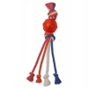 "Flossy Chews BALL w/MULTI ROPES 18"" (45cm) - Click for more info"