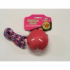 "DENTAL BALL w/ROPE DOG TOY - 3""/8cm - Click for more info"