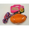 "DENTAL BOUNCER w/ROPE DOG TOY - 4.25""/11cm - Click for more info"