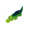 Prestige SQUEAKY LATEX CROCODILE 35cm - Click for more info