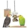Featherland Paradise HIDE AWAY FORAGING BOX FEEDER 28 x 7cm - Click for more info