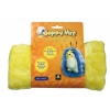 HAPPY HUT Large Yellow  (21H x 17W cm) - Click for more info