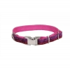 "Pet Attire - ADJ. COLLAR SPARKLES 5/8"" Pink & Red 20-30cm - Click for more info"