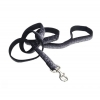 "Pet Attire - SPARKLES LEASH 1"" x 1.8m Black & Silver - Click for more info"