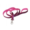 "Pet Attire - SPARKLES LEASH 1"" x 1.8m Pink & Red - Click for more info"