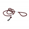 K9 Explorer - REFLECTIVE BRAIDED ROPE LEASH 1.8m Berry - Click for more info