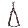 "ADJ. NYLON PUPPY HARNESS 5/16"" Brown w/Paws 20cm-35cm - Click for more info"