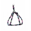 "ADJ. NYLON PUPPY HARNESS 5/16"" Wildflower 20cm-35cm - Click for more info"