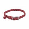 "Li'l Pals - REFLECTIVE ELASTICISE COLLAR 5/16"" Red - to 20cm - Click for more info"