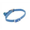"Li'l Pals - ELASTICISED COLLAR w/Bow 5/16"" Blue - up to 20cm - Click for more info"