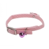 "Li'l Pals - ELASTICISED COLLAR w/Bow 5/16"" Pink - up to 20cm - Click for more info"