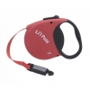 Li'l Pals - RETRACTABLE LEASH w/E-Z SNAP XS 3.65m Red - Click for more info