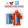 Out! Petcare - FIRE HYDRANT DISPENSER w/30 WASTE PICK-UP BAG - Click for more info