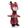 Charming Pets CHRISTMAS PLAID POPPER REINDEER 27cm - Click for more info