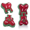 Charming Pets CHRISTMAS JIGSAW BONE RED 21.5cm - Click for more info