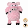 Tuffy MIGHTY TOY ANGRY ANIMALS PIG - Click for more info