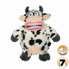 Tuffy MIGHTY TOY ANGRY ANIMALS MAD COW - Click for more info